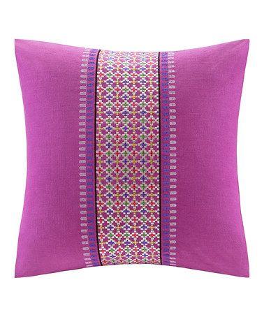 Love this Vivid Viola Throw Pillow on #zulily! #zulilyfinds
