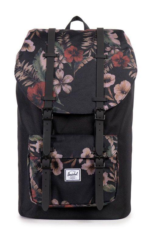 Herschel, Little America Backpack - Hawaiian Camo - Men's Accessories - MOOSE Limited