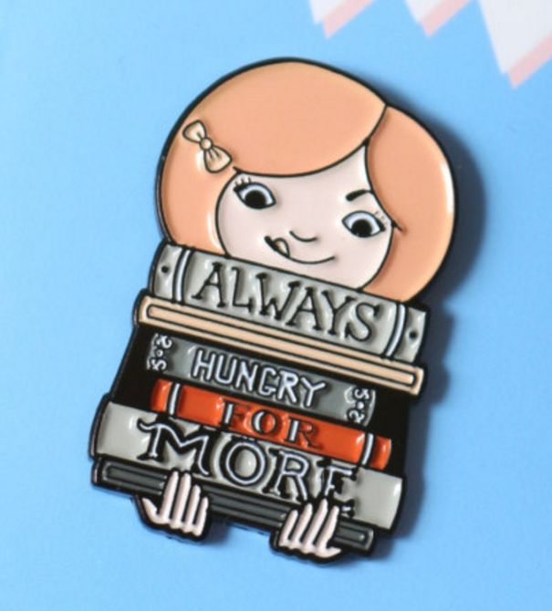 This pin, for when you need to feed the need. | 21 Book Pins For Bookworms  https://www.buzzfeed.com/clairedelouraille/book-pins?utm_term=.mazY3OMEQ#.nwa498AqG