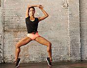 Crazy leg workout.