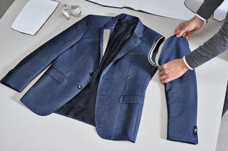 The armhole is hand-stitched underneath to ensure movement and softness