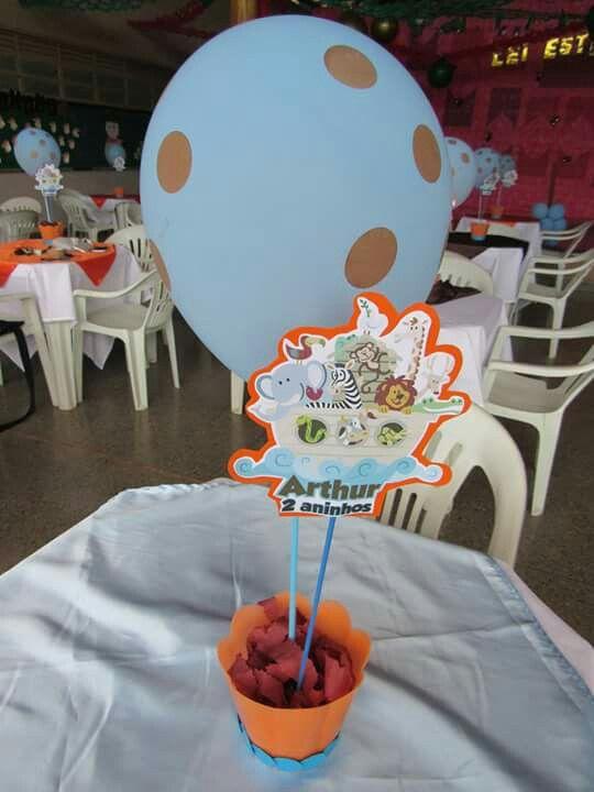 Centro de mesa arca de Noé  - Detalhes Arte e festas  -  Whatsapp 61 9623-8434