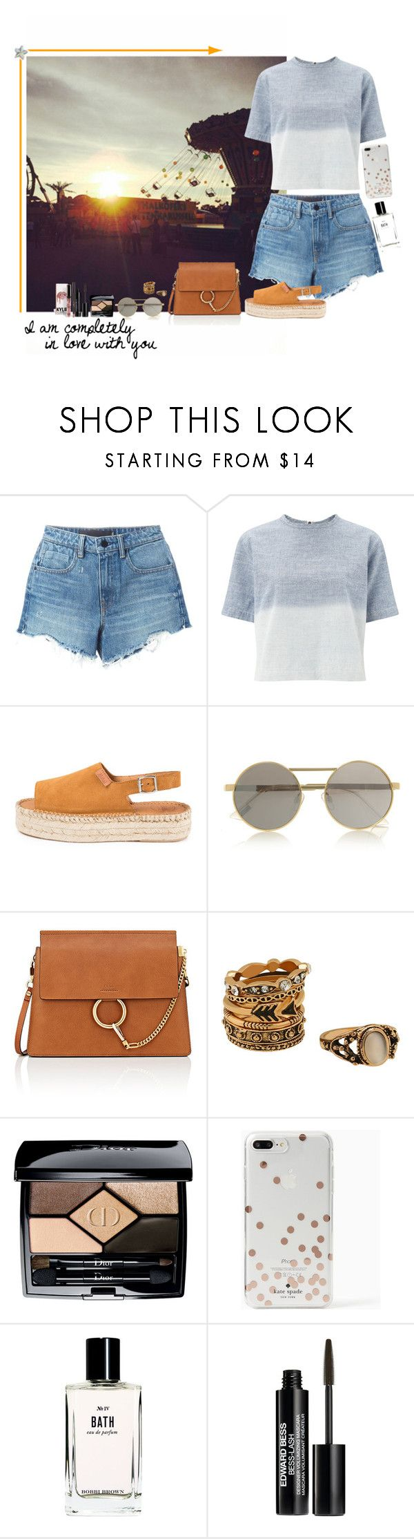 """""""VIII. Local Fair with him"""" by miriamofficial5 ❤ liked on Polyvore featuring Alexander Wang, rag & bone, Le Specs, Chloé, Christian Dior, Kate Spade, Bobbi Brown Cosmetics and Edward Bess"""