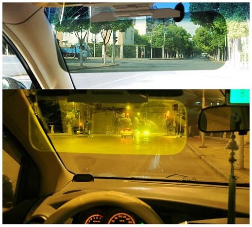 Солнцезащитный козырек в автомобиль