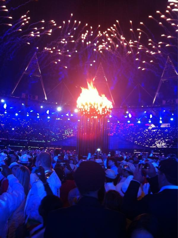 Game, Set, Match... Egypt: OLYMPICS: The London 2012 opening ceremony through the tennis players' eyes