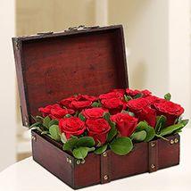 Treasured Red Roses