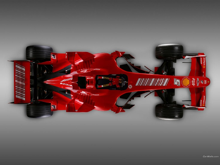 Ferrari F2007 1024 x 768 wallpaper -