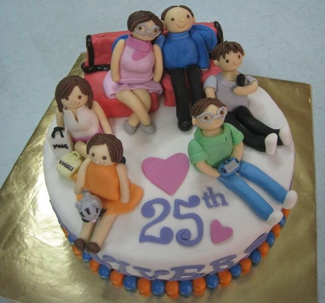 Cake Ideas For Parents Anniversary : cakes images for 25th anniversary - Google Search ...