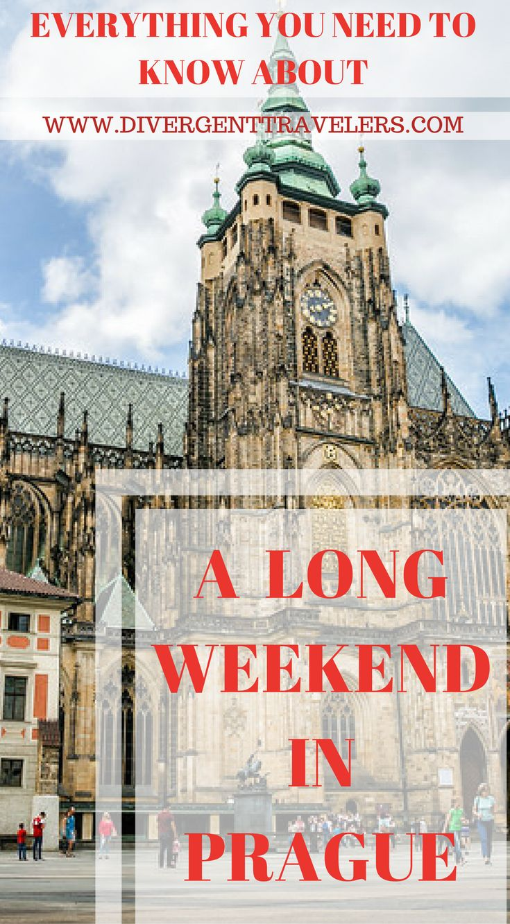 Everything you need know know about a long weekend in Prague. Planning to visit Prague? Make the most of your trip and don't miss out on top Prague attractions with our suggested three-day and four-day Prague itineraries. Click to read 3 Day Prague Itinerary – Things to Do in Prague #Guide #Travel #Prague #Itinerary