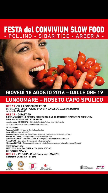 Vi aspettiamo giovedì 18 agosto alla Festa Slow Food Pollino-Sibaritide-Arberia sul lungomare di Roseto Capo Spulico (CS) con le nostre produzioni artigianali
