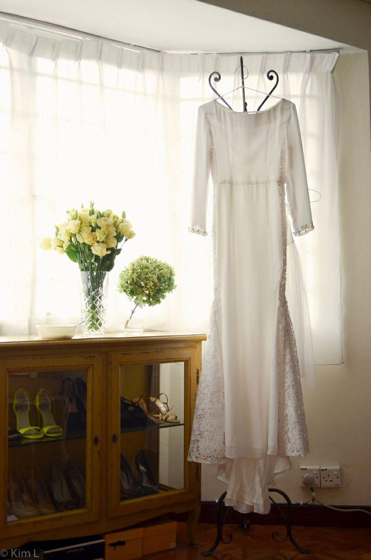 Baju kurung with side lace