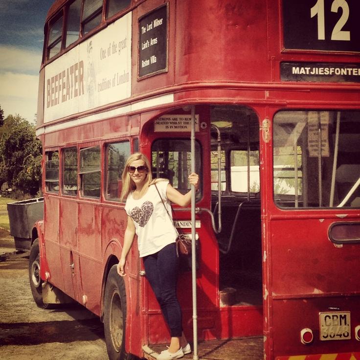 Matjiesfontein tour bus