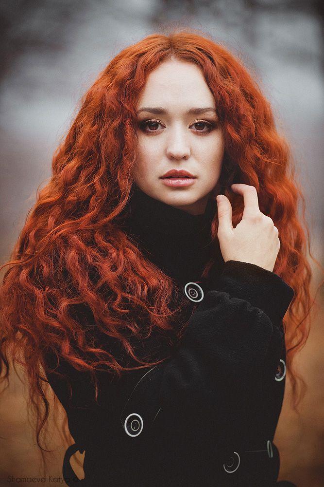 Pretty redhead models