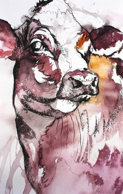 I just really like cows, they are just super adorable. i want a miniature one, NO APOLOGIES!