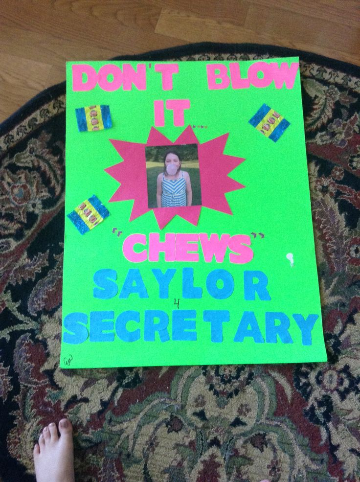 Campaign poster ideas for student council | Campaign ...