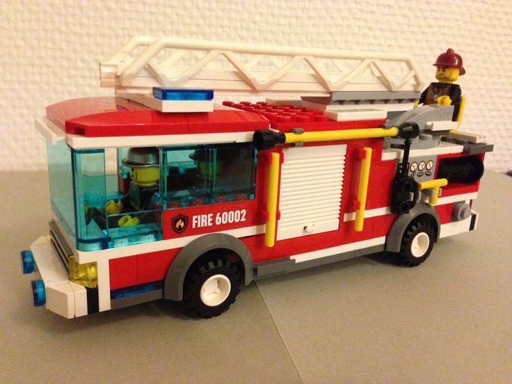 Lego fire truck