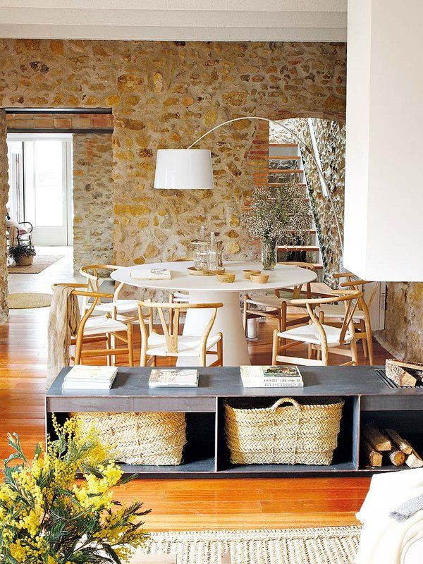 decordemon: Renovated house with charming rustic interiors in Girona, Spain