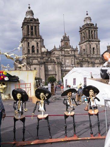 SATURDAY, NOVEMBER 2, 2013 Happy Day of the Dead/Dia de los Muertos, Mexico City Style!