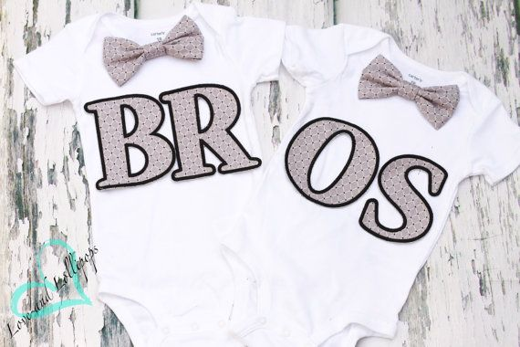 Twin Boys Cake Smash Outfit Matching Twin by LoveAndLollipopsBaby
