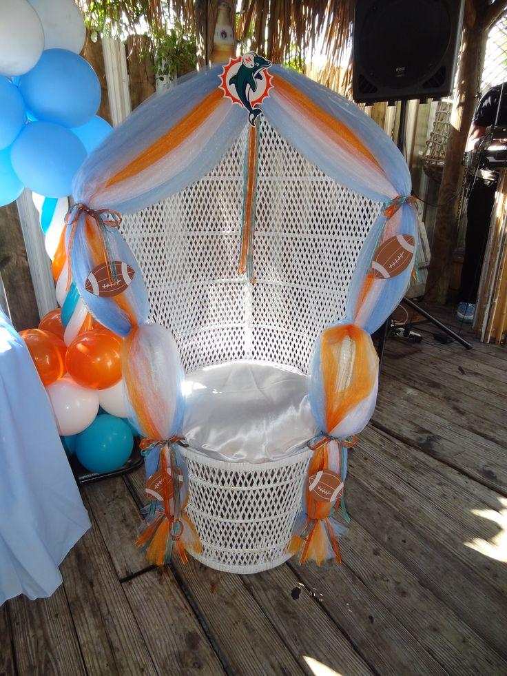 Baby Shower Chair Www.fourjparty.com