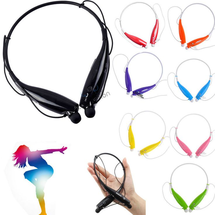 Bluetooth Wireless Headset Stereo Headphone Earphone Sport