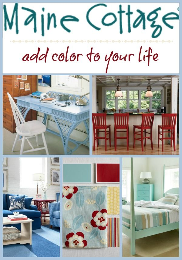 Maine Cottage - add color to your life + mega gift card giveaway.