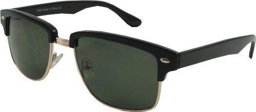 Retro Madison Ave Clubmaster Black framed Sunglasses Revive Eyewear http://www.amazon.co.uk/dp/B00D2UUZVE/ref=cm_sw_r_pi_dp_HA00wb0TFD84T