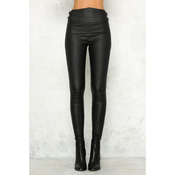 Hellomolly- Rebel With A Cause Pants Black $63