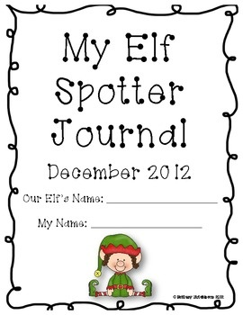 Elf on the Shelf Activity Pack (FULL Elf Placement Calenda