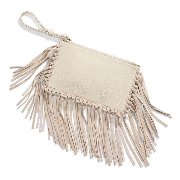 Stitch Fix May Styles: Fringe Clutch