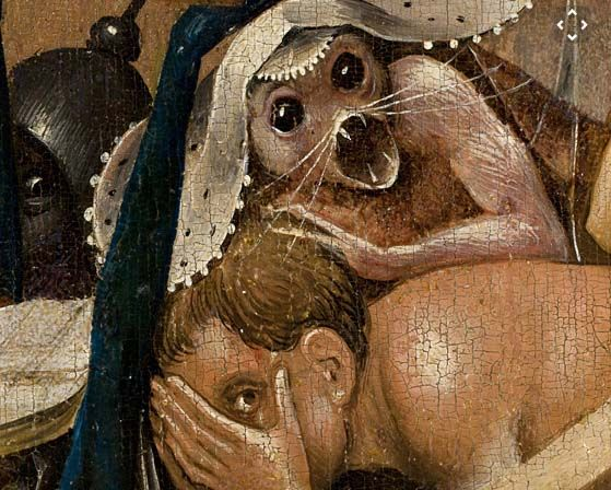 "Hieronymus Bosch (1450–1516), Detail from ""The Garden of Earthly Delights"""