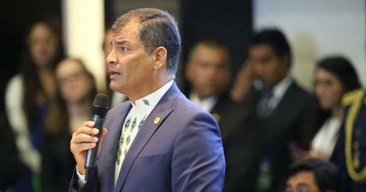 "Ecuadoran president Rafael Correa on Sunday denounced ""fantasies of trickle-down theories"" and said that it's neoliberalism, not socialism that has failed his region."