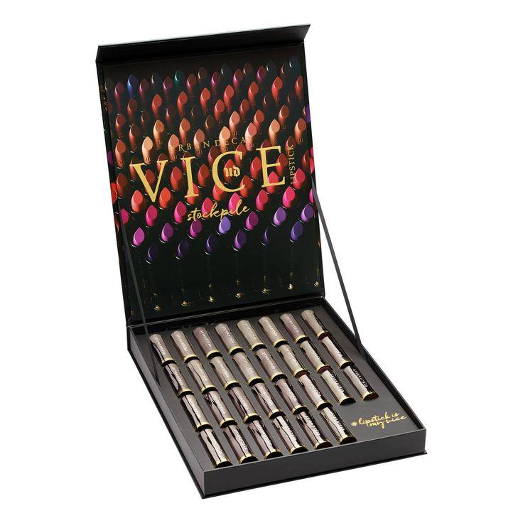 Vault Stockpile Vice Lipstick - Coffret 30 Teintes de URBAN DECAY sur sephora.fr : Toutes les plus grandes marques de Parfums, Maquillage, Soins visage et corps sont sur Sephora.fr - 399 €