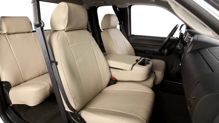 """CalTrend """"I Can't Believe It's Not Leather"""" Seat Covers Review - SEMA 2014"""