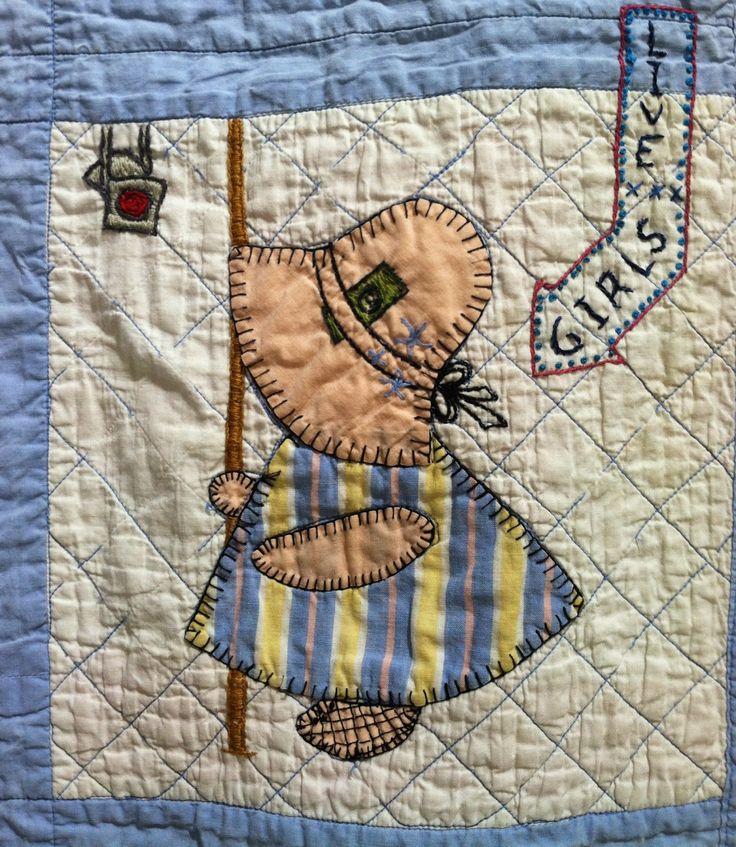 Sunbonnet Sue - Free Patterns for Quilts & Applique