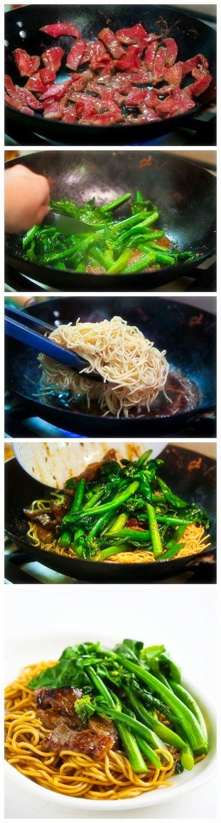 Broccoli Beef Noodle Stir Fry - Joybx