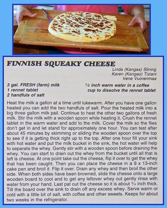 Finnish Squeaky Cheese