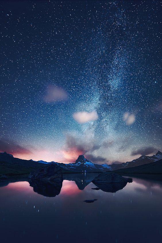 Starry night    sky     night sky     nature      amazing nature    #nature #amazingnature  https://biopop.com/