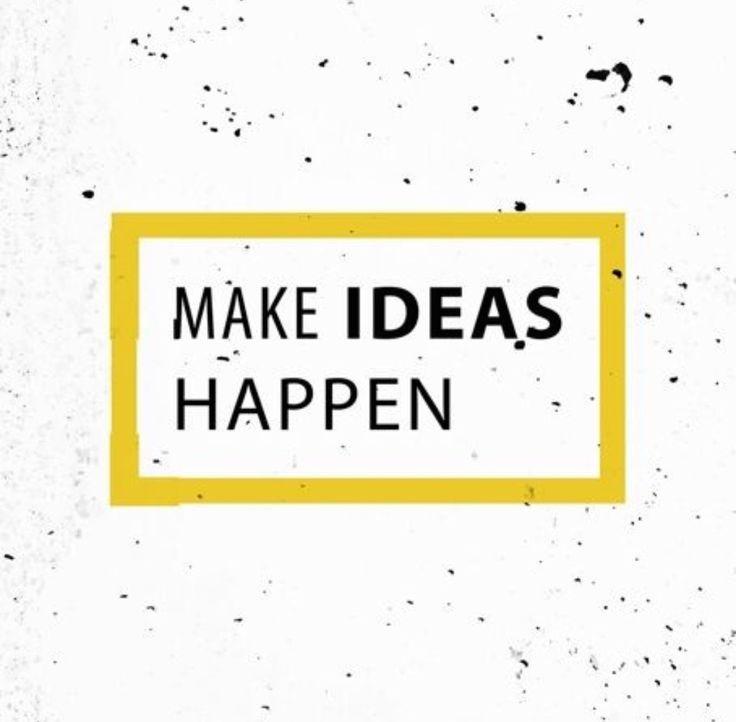 Make Ideas Happen canvas