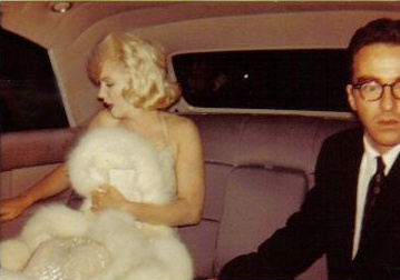 Kennedy Birthday arrival, May 19, 1962... Her dress, fur and hair, look more like Some Like It Hot premier...and Monty...not 1962, anyone??