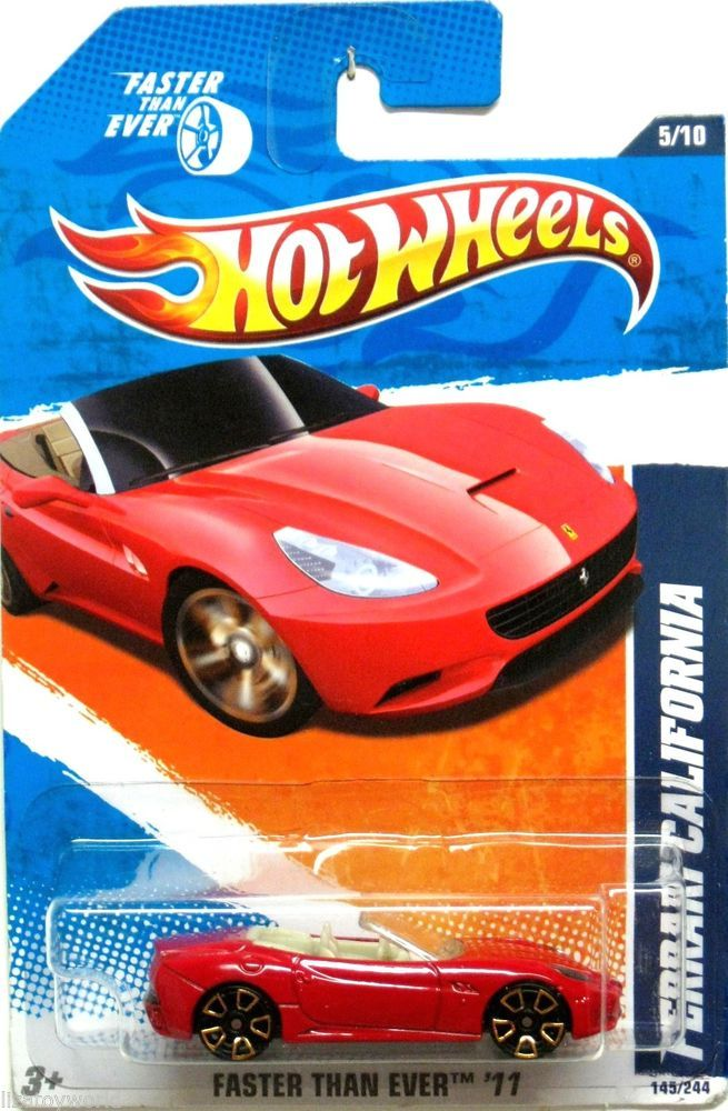 Ferrari California Hot Wheels 2011 Faster Than Ever #5/10 ...