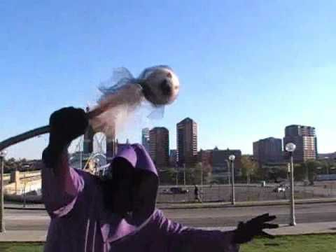 """It's time for the """"Ghost on a Stick"""" song.... Halloween Rap Fun: Ghost on a Stick Video as seen on CNN TV"""