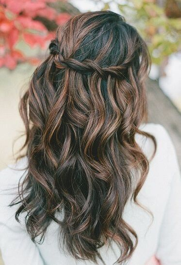 25 beautiful chocolate brown highlights ideas on pinterest 25 best hairstyle ideas for brown hair with highlights pmusecretfo Images
