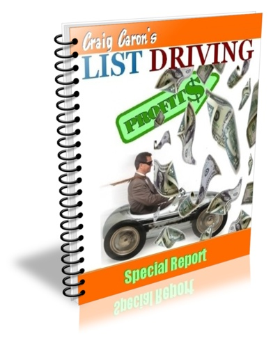 My List Driven Profits report. A short read to get you well on your way to building a profitable list in no time at all.