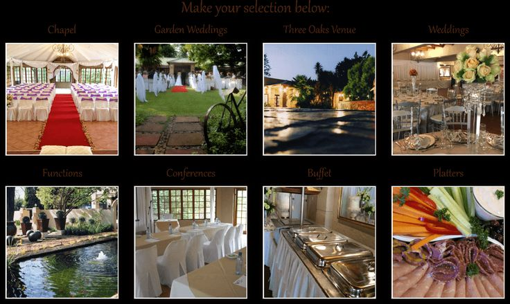 wedding venue centurion chapel garden wedding year end functions 21 birthda | Die Hoewes, Centurion | three oaks