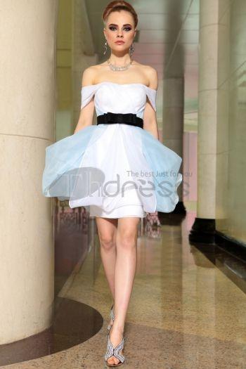 Abiti in Magazzino-pronto moda a prezzi accessibili al largo della spalla gonfi abiti Quinceanera, vestito compleanno sexy 6056