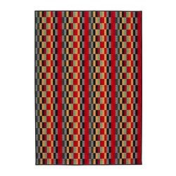 "HELSINGE Rug, low pile - IKEA - 5' 3"" x 7' 7"" - Also see the matching fabric in Sewing ~ Sheila"