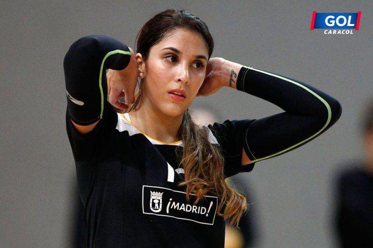 La belleza de Daniela Ospina prendió los flashes en el voleibol español | Información General Fútbol | Golcaracol.com