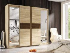 Šatní skříň s posuvnými dveřmi ATATIR dub sonoma / dub sant
