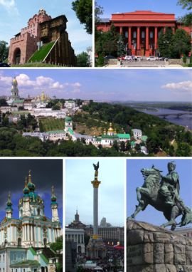 Kiev, Ukraine - Following the collapse of the Soviet Union and Ukrainian independence in 1991, Kiev remained the capital of Ukraine  During the country's transformation to a market economy and democracy, Kiev has continued to be Ukraine's largest and richest city.